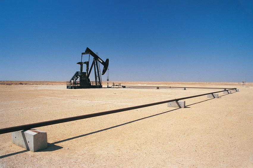 Oil EOR-FLOPAAM-Desert